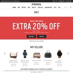 Fossil - Extra 20% off Sale