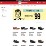 Father's Day Sale - All Mens $99 and under Inc Julius Marlow & Hush Puppies @ Shoe Warehouse Online