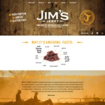 Jim's Jerky Value Pack - 7x 85g Bags for $50 + Shipping, Save $34