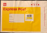 AUSPOST 3kg EXPRESS Post Satchel Pack of 10 @ $103.55 Delivered (RRP $155.80) from cosmos121 on eBay