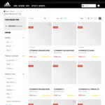 Flash Sale: 25-30% off 294 Selected Items + Free Shipping @ adidas
