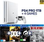 PS4 Pro 1TB + 4 Games $499 @ EB Games