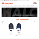 Macpac Halo Down Jacket $99.99 + $10 Shipping (Free Shipping over $100)