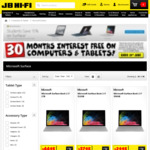 15% off Surface Laptops @ JB Hi-Fi