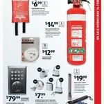 Fire Extinguisher 1kg $14.99, Fire Blanket $6.99, Digital Deadlock $80 @ ALDI