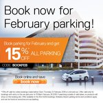 (QLD) 15% off All Parking in February @ Brisbane Airport
