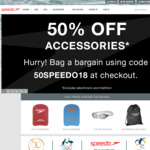 50% OFF Accessories at Speedo.com.au (eg Opal Mirror Goggles $20 was $40)