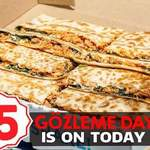 [NSW, ACT, VIC] Gozleme King Are Having a $5 Gozleme Day (Today 6th April)