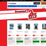 Preowned Titles 2 for $10 (for the PS3, Xbox 360, Wii U, Wii and Nintendo DS) at EB Games