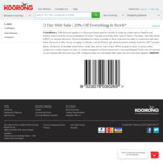 Koorong 20% off Everything Online Free shipping $99+