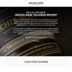 Win a Whisky Distilling Experience incl a 20L Cask of Tailored Single Malt Whisky Worth $6,800 from Archie Rose Distilling Co