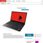 """ThinkPad E580 15.6"""" FHD, i7-8550U, 8GB/256GB, RX550 $1099 @ Lenovo Australia"""