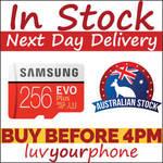 Samsung 256GB EVO Plus MicroSD SDXC $95.99 Delivered ($89.99 w/ eBay Plus) @ Luv Your Phone eBay