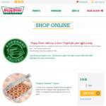 Free Delivery @ Krispy Kreme Online