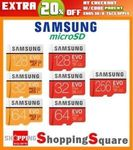 Samsung EVO Plus MicroSD 256GB $89.60 Delivered @ Shopping Square eBay