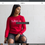 Up to 50% off Women's & Men's Selected T-Shirts (From $20) @ AJ&Co