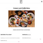[QLD] All You Can Eat Korean Lunch Buffet $14.90 @ Han Woo Ri (Brisbane, 11:30AM - 3PM Daily)