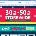 30%-50% off Lincraft Sitewide Multiple Christmas Decorations