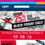 PETstock 25% off Dog & Cat Products - eg Ivory Coat 13kg Lamb & Kangaroo $82.49, Was $120; Free Metro Delivery over $25