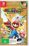 [Back-Order, Switch] Mario + Rabbids Kingdom Battle Gold Edition for $39 + Delivery (Free with Prime/ $49 Spend) @ Amazon AU