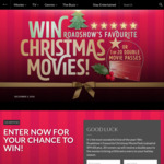 Win a Christmas Movie Pack Worth $99.60 or 1 of 20 Village/Event Double Passes Worth $44 from Roadshow