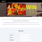 "Win a Sony X85F 55"" LED Ultra HDR Android TV Worth $1,999 from Sony"