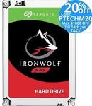 Seagate IronWolf 3TB $120, 4TB $152 w Free Delivery @ Techmall eBay