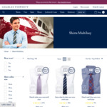 Charles Tyrwhitt - 3 Shirts for $119, Free Delivery with $199 Spend