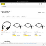 Braided USB Type-C and Micro-USB 1.5m Cable $6.99 and Lightning Cable $12.99 Each @ IKEA