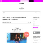 Win a $200 TAMGA Designs Ethical Fashion Gift Certificate from Eco Warrior Princess