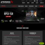 """Apex15R 15.6"""" 2kg 144hz FHD i7-8750H GTX1060(6GB) 16GB Mechanical Keys 256GB 1TB 2year Warranty Delivered $2019 @ AftershockPC"""