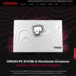Win an EVO16-S Gaming Laptop Worth $2,820 from ORIGIN PC