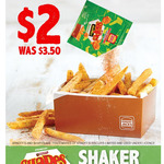 BBQ Shapes Shaker Chips $2 (Was $3.50) @ Hungry Jack's (via App)