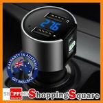 Wireless Bluetooth Car Kit FM Transmitter $19.95 for 2 + Delivery (Free with eBay Plus) @ Shopping Square eBay