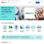 Buy Two and Get 15% off Your Second Item When You Spend $75. Max Disc $300 @ eBay AU