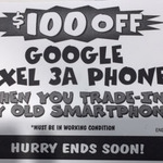 $100 off a Google Pixel 3a [$549] or 3a XL [$699] When You Trade-in Any Old Working Smartphone @ JB Hi-Fi