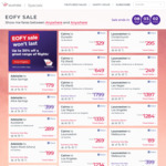 Virgin Australia EOFY SALE up to 30% off. Eg SYD to BNE from $89