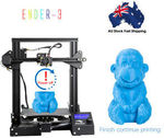 Creality Ender-3 3D Printer Kit - $234 Delivered (AU Stock) from momoaustraliatrading2016 eBay