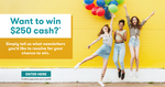 Win $250 Cash from Canstar