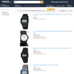 Casio & Citizen Made QQ Watches 15 - 50% off (Free Delivery) @ Monster Trading Store, Amazon AU