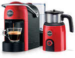 Lavazza Jolie Red Espresso Machine and Milkup Frother $79.95 (Was $169) @ Harris Scarfe