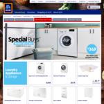 Stirling 6kg Front Load Washing Machine $349, 7kg Heat Pump Dryer $579 - ALDI Special Buys 27/7/19