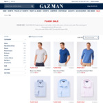 Gazman Online Flash Sale: Menswear from $12.71 + Shipping (Free over $100)