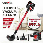 X-BULL Handheld 2in1 9000PA Cordless Vacuum Cleaner $97.60 Delivered @ Eastbayauto eBay