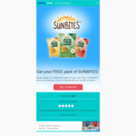 Free $5 Coles or Woolworths eGift Card @ Sunbites via SocialSoup (First Time Trials)