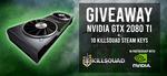 Win an NVIDIA GeForce RTX 2080 Ti GPU or 1 of 10 Killsquad Steam Keys from Killsquad/NVIDIA
