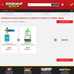 Bowden's Snow Cannon Kit & Snow Car Wash 2l Combo - $98.99 @ Supercheap Auto