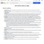 20% off Futu Online (Max Disc $1000) @ eBay