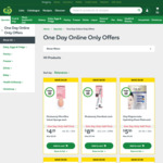 Woolworths 11/11 One Day Online Only Sale (eg. Magnum Ice Cream Tubs 440ml 1/2 price $4.25) @ Woolworths Online