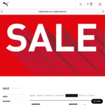 40% off all FFEligible Items (e.g. Water Bottle $6) @ Puma